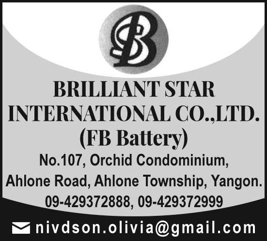 Brilliant Star International Co., Ltd.