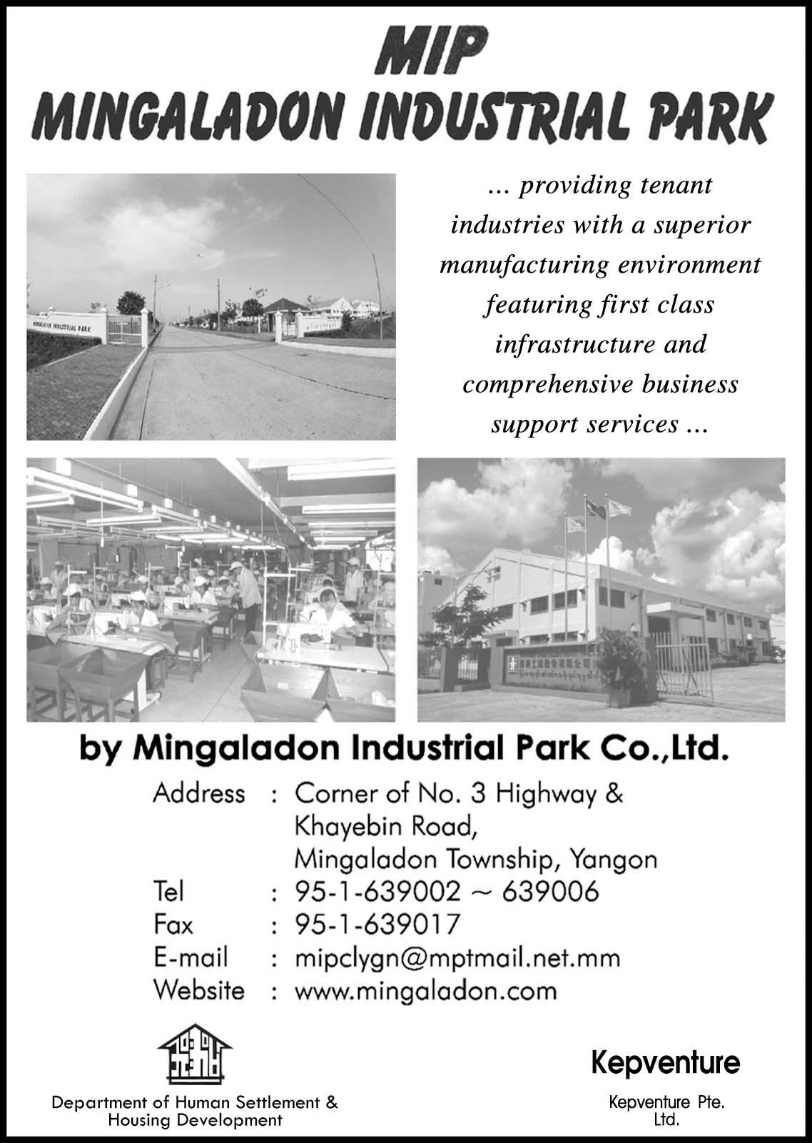 Mingaladon Ind. Park Co., Ltd. (MIP)