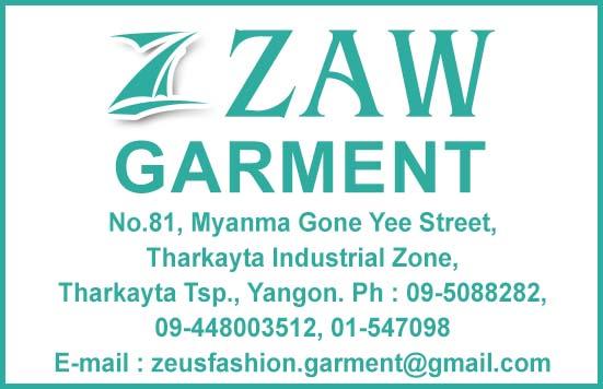 Zaw Garment