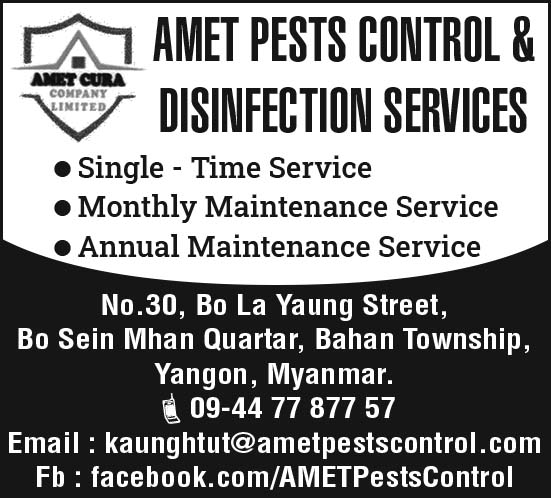 Amet Pesta Control and Disinfection Services