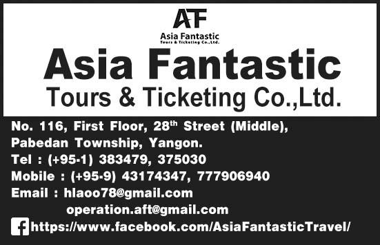 Asia Fantastic Tours & Ticketing Co., Ltd.