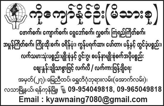 Ko Kyaw Naing Oo