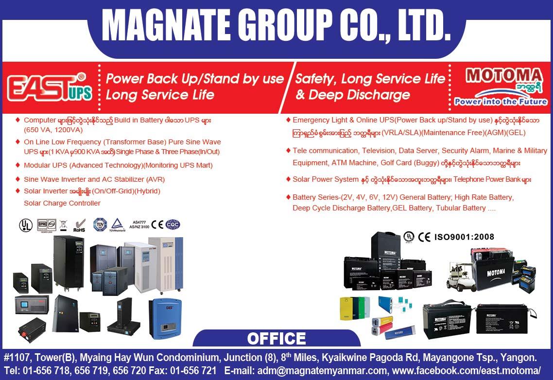 Magnate Group Co., Ltd.