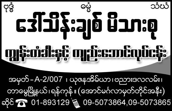 Daw Thein Chit Family
