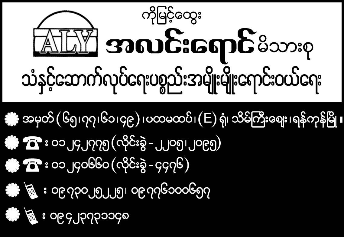 Alin Yaung Family (Myint Htwe (Ko))