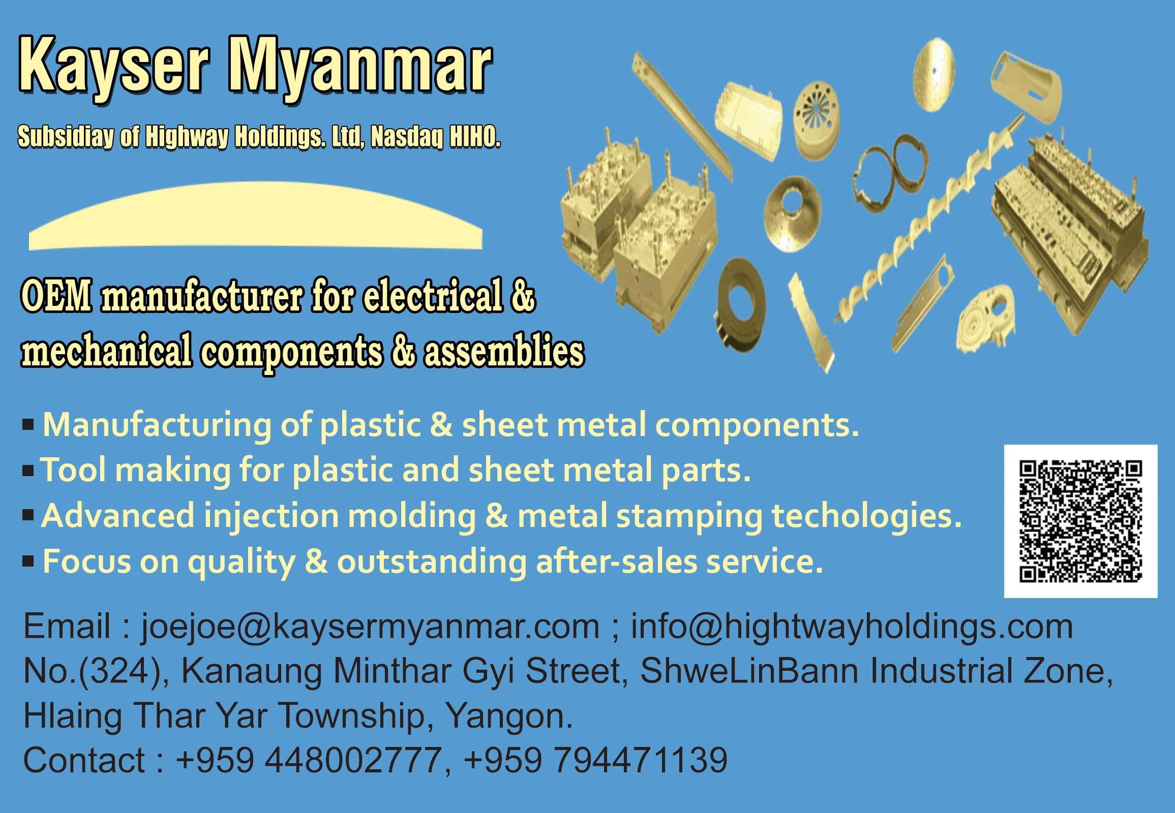 Kayser Myanmar