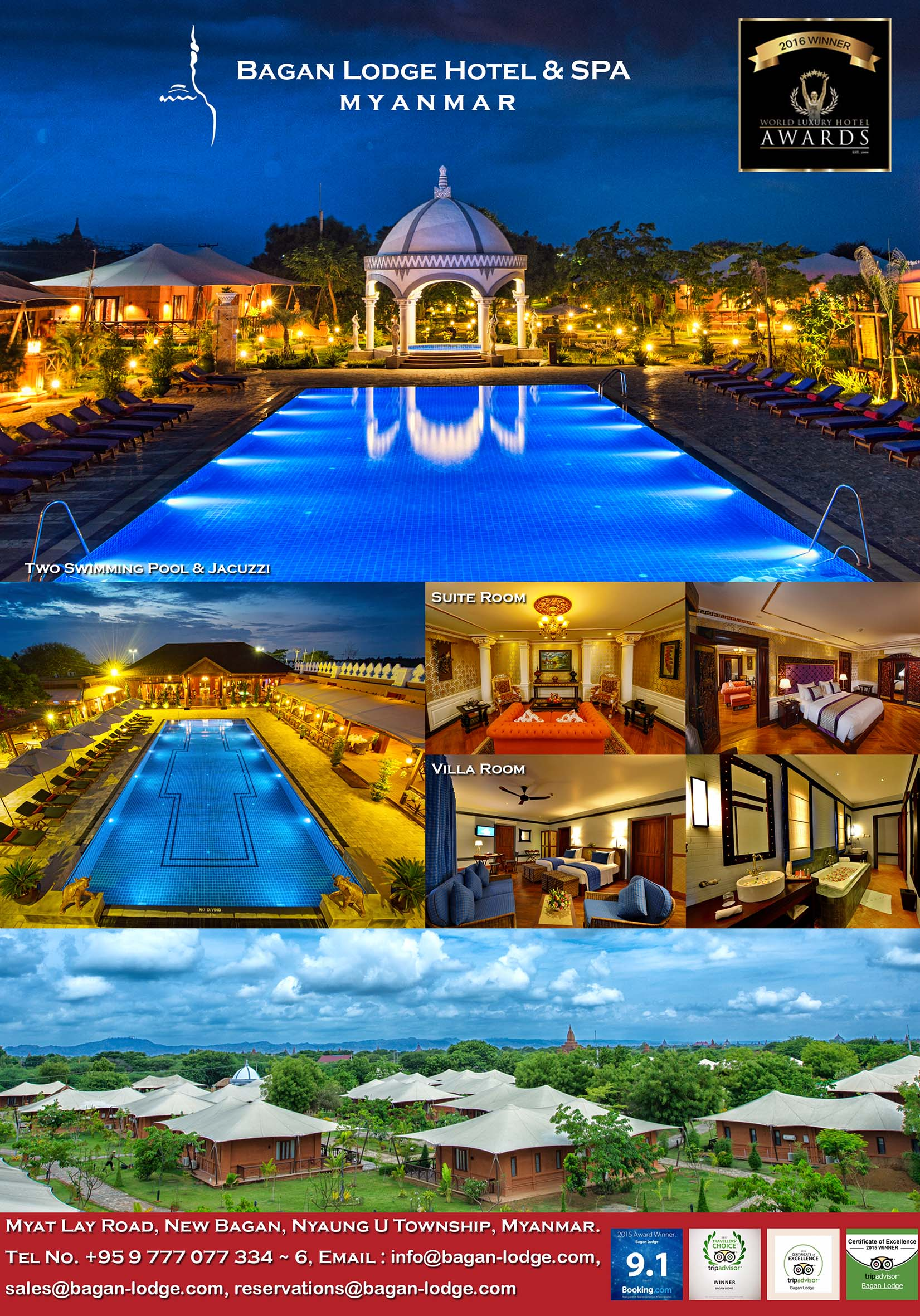 Bagan Lodge Hotel & Spa