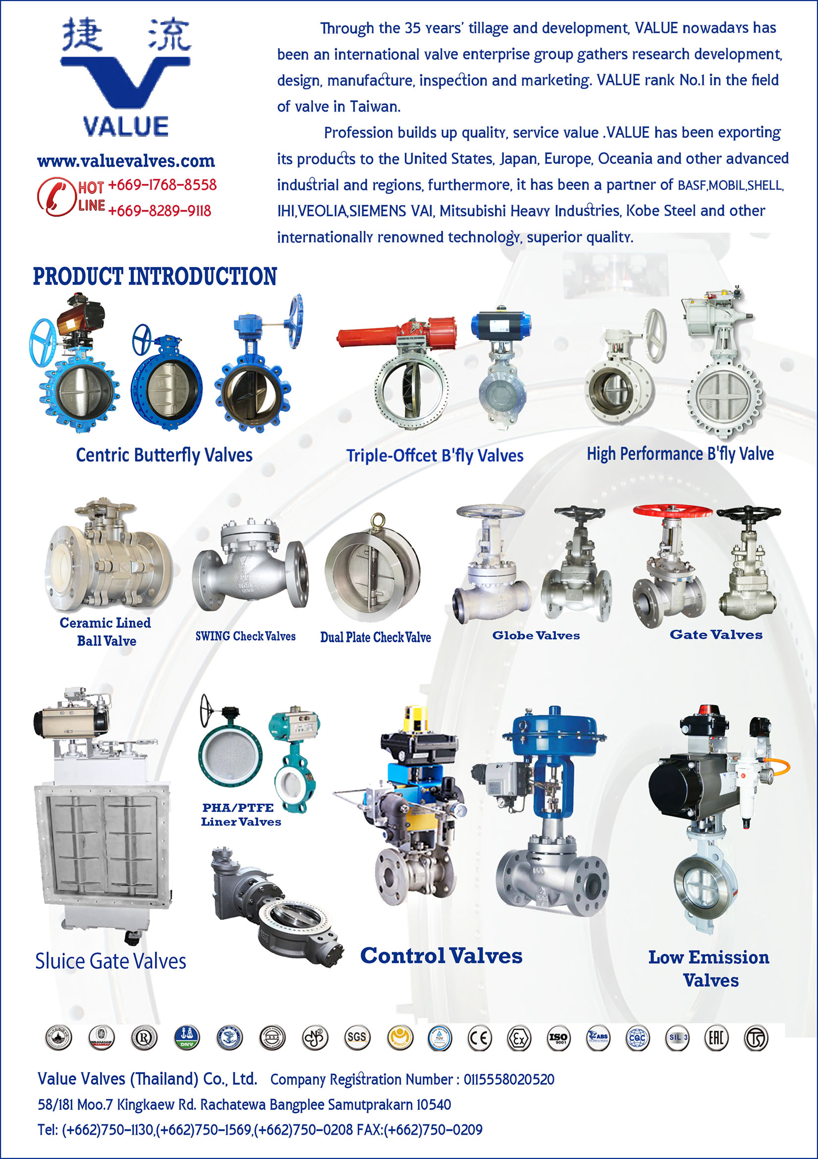 Value Valves (Thailand) Co., Ltd.