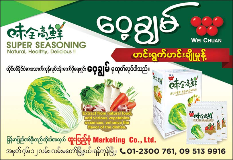 Htoo Pyae Sone Marketing Co., Ltd. (Wei Chuan)