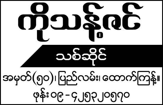 Ko Thant Zin