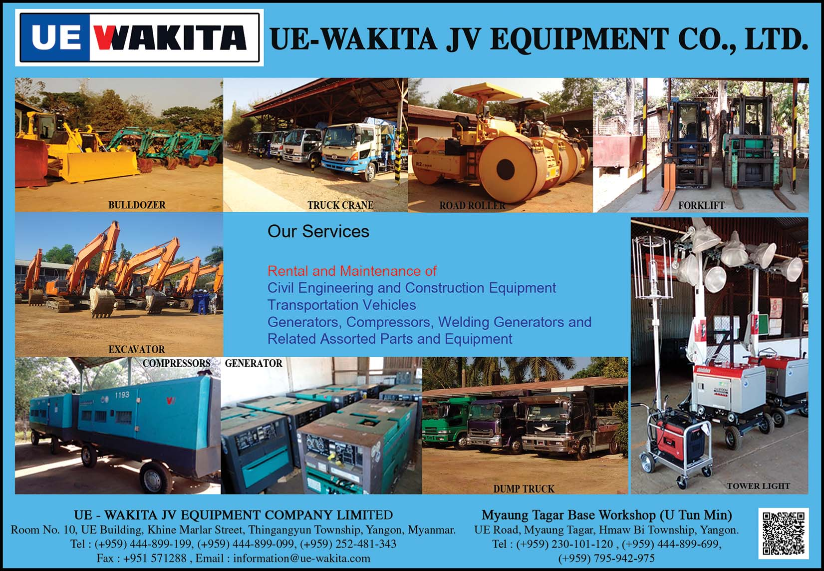 UE-WAKITA JV Equipment Co., Ltd.