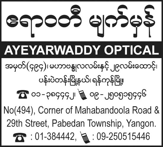 Ayeyarwaddy Optical