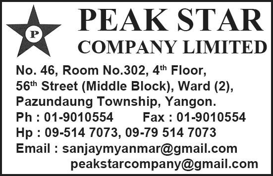Peak Star Co.,Ltd