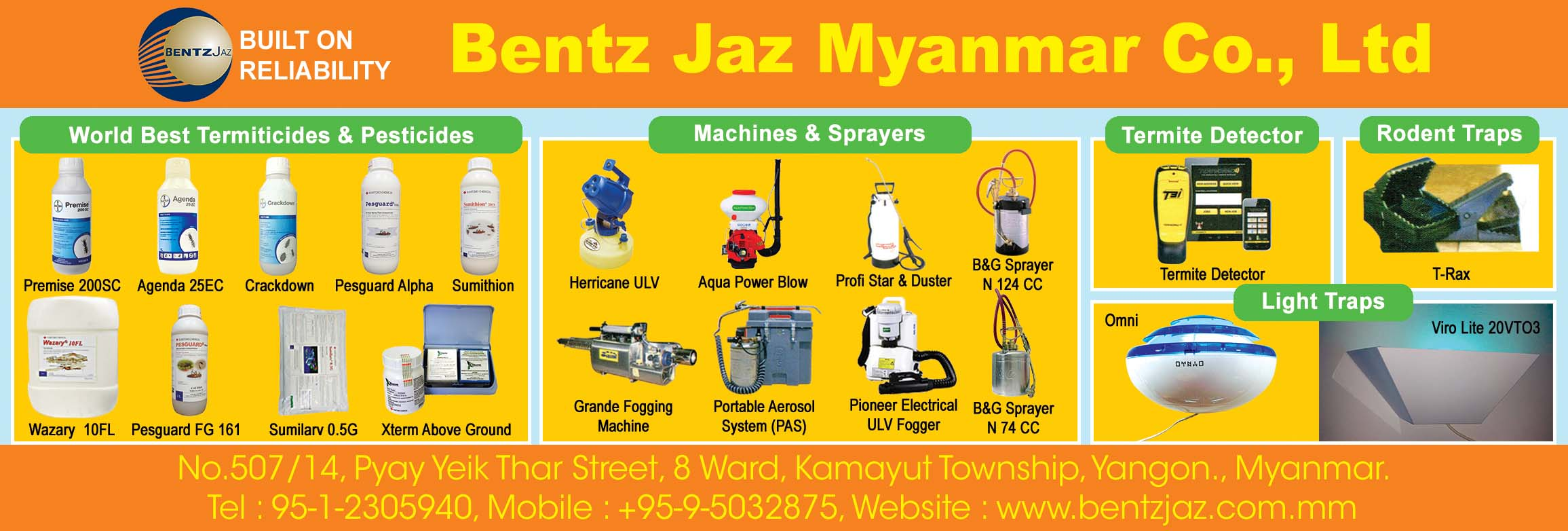 Bentz Jaz Myanmar Co., Ltd.