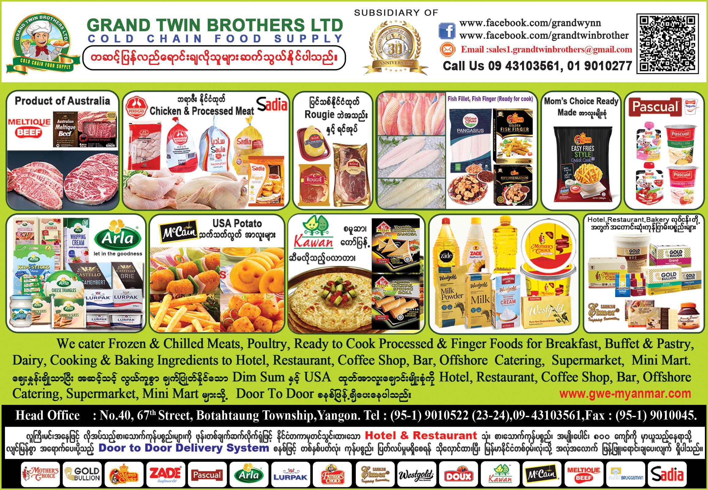 Grand Twin Brothers Ltd.