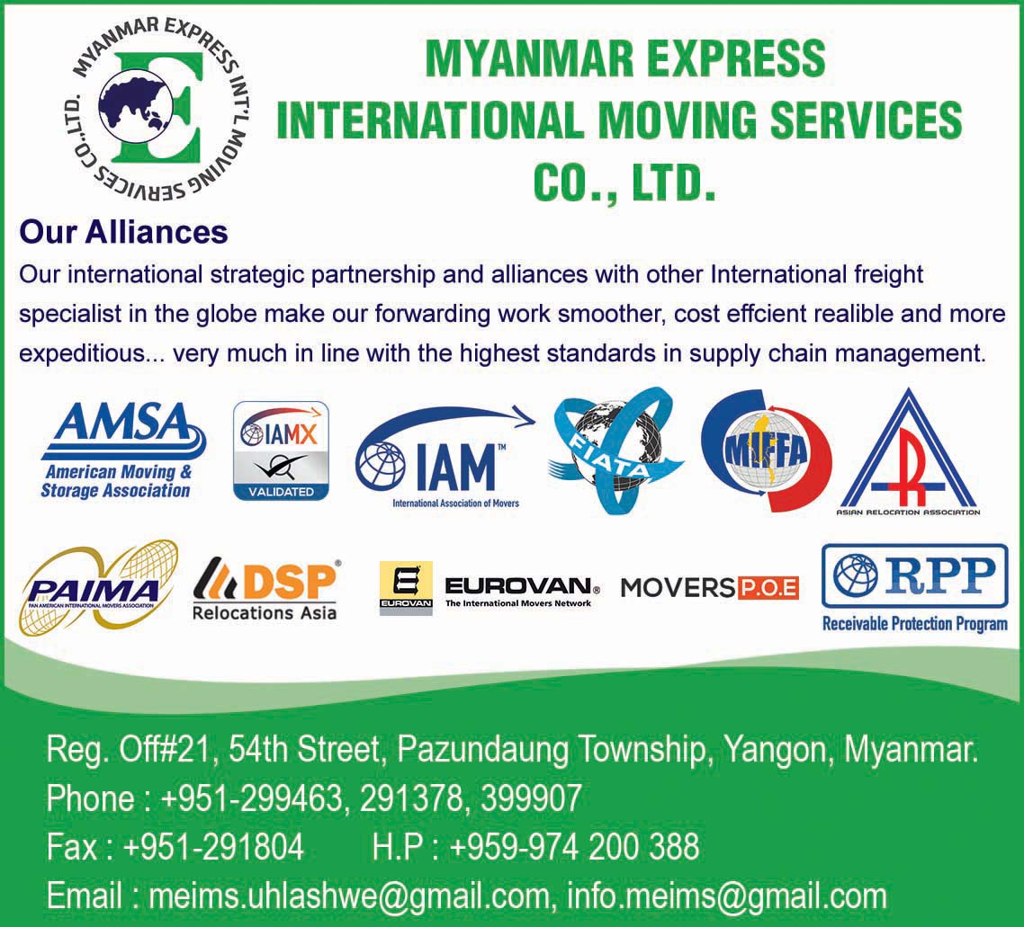 Myanmar Express International Moving Services Co., Ltd.