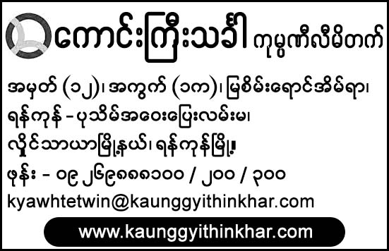 Kaung Gyi Thinkhar Co., Ltd.