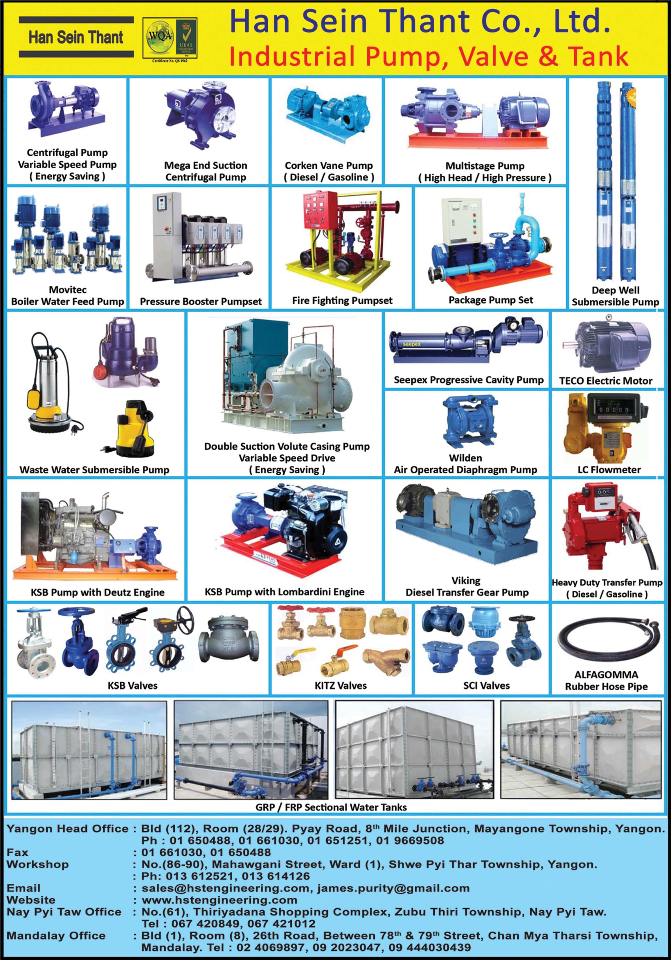 Han Sein Thant Co., Ltd.