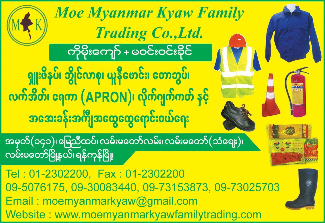 Moe Myanmar Kyaw Family Trading Co., Ltd.