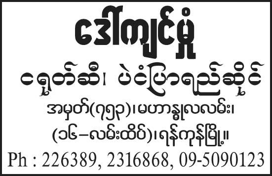 Daw Kyin Hmone